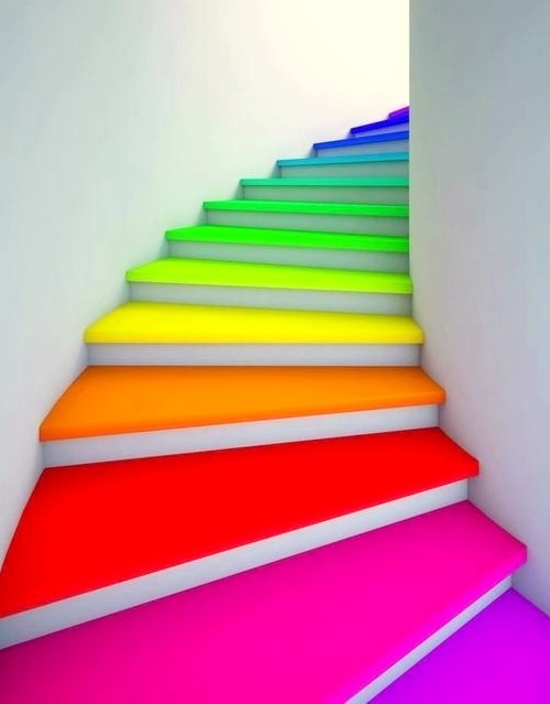 colorful-stairs
