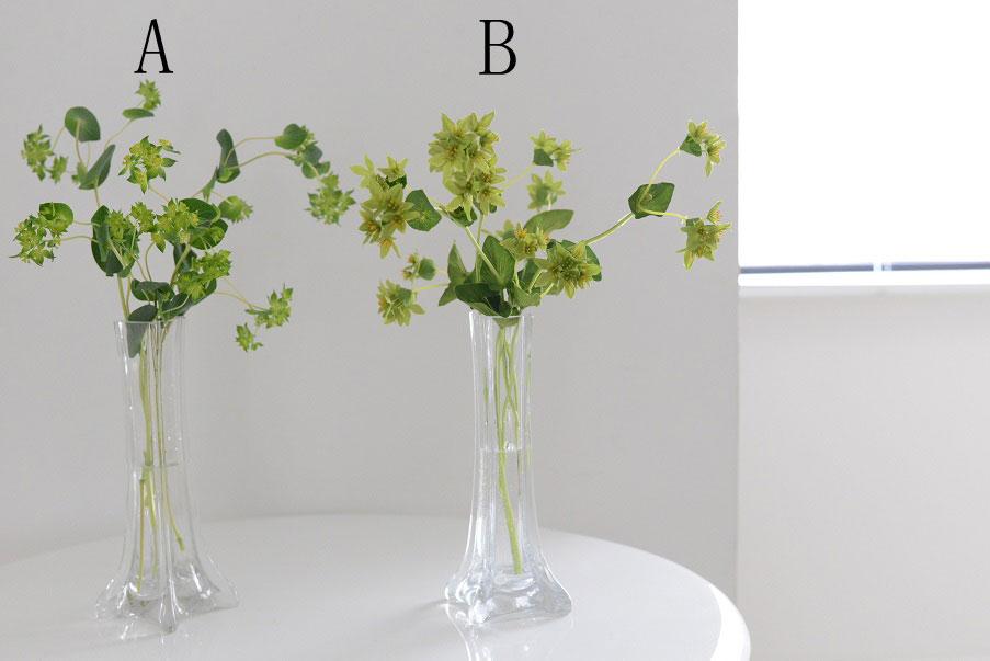 生花と造花マーク