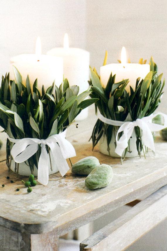 magnolia-leaf-candle-wrap